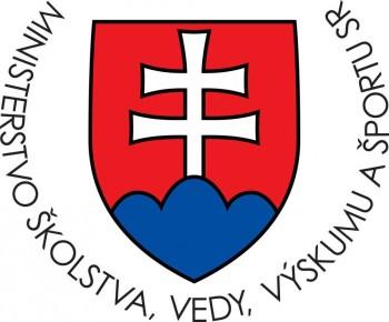 Certifikát Ministerstva školstva SR o spôsobilosti vykonávať výskum a vývoj